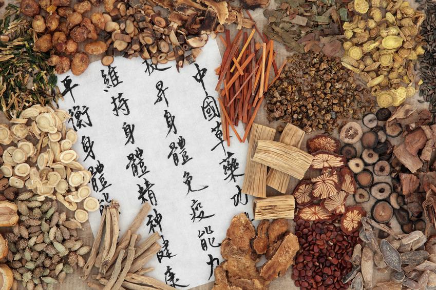Chinesische Heilkräuter TCM