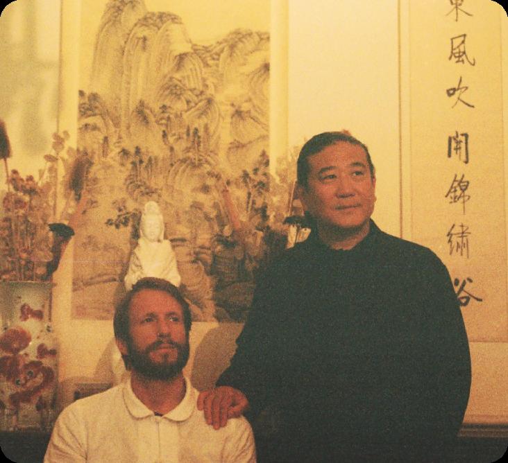 Olaf Struß & TCM Meister Zhongwen Zhang
